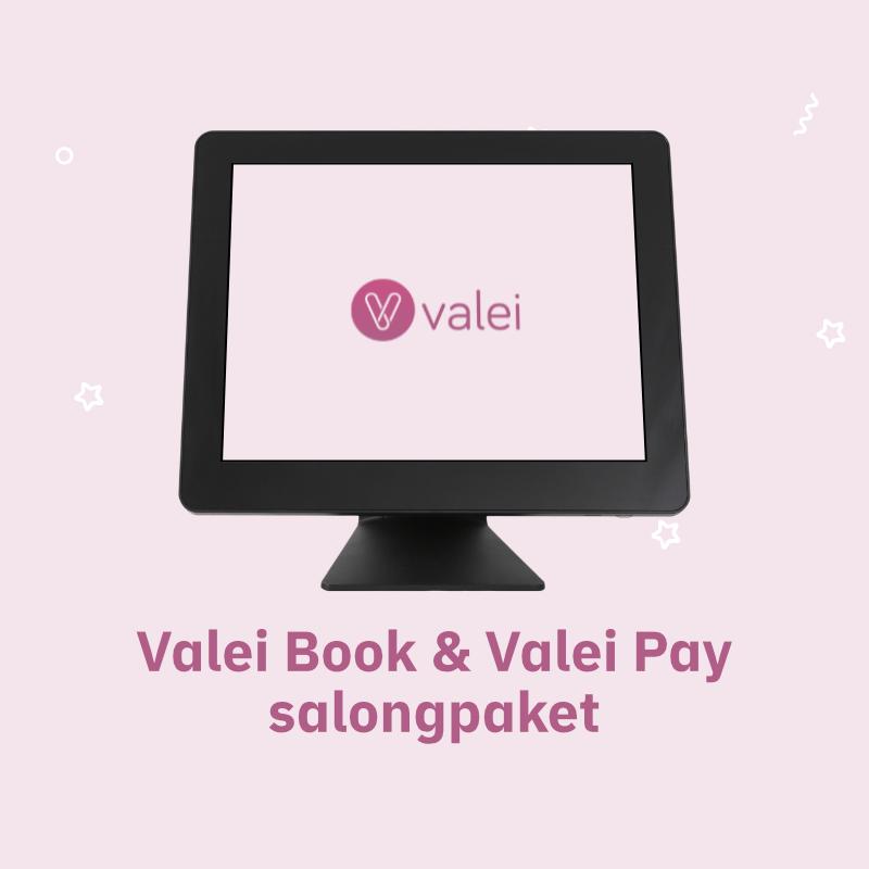 Valei Book & Valei Pay Salongpaket