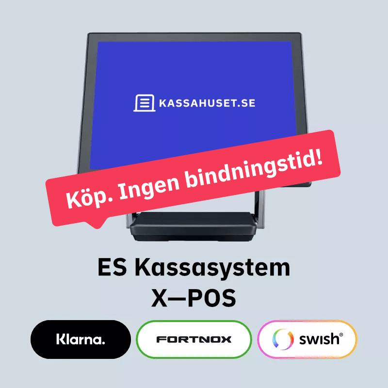 ES Kassasystem X—POS Köp